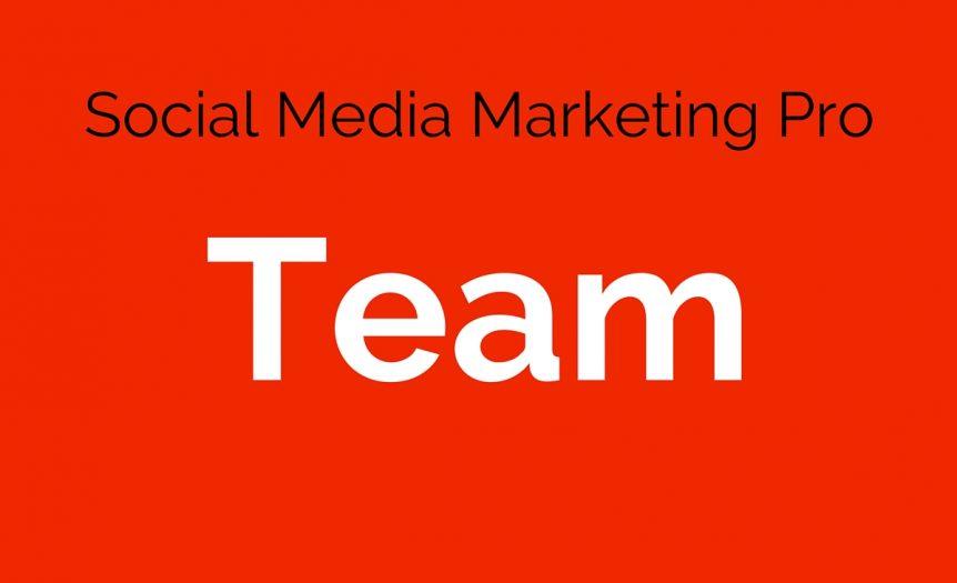 team social media marketing pro