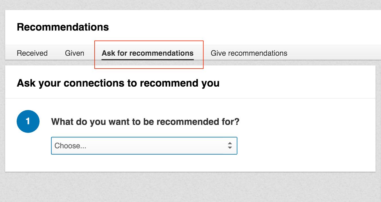 linkedin препоръка