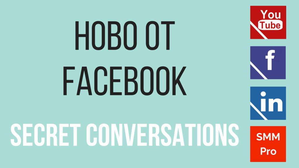 Ново от Facebook: Secret Conversations
